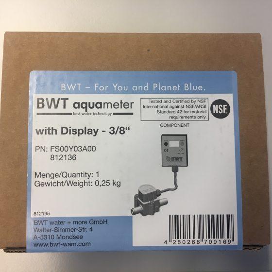 BWT Aquameter mit LCD Display