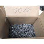 500 Schrauben mit Beilagscheibe