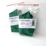 2er Pack Mund & Nasen Maske grün