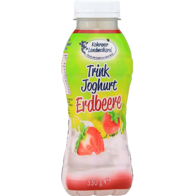 Trinkjoghurt Erdbeere